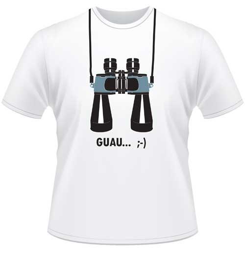 Camiseta Prismáticos