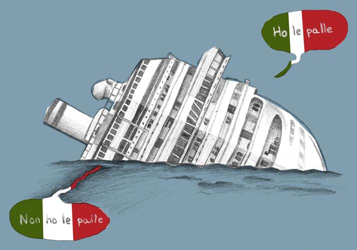 Ilustración Italianos e italianos
