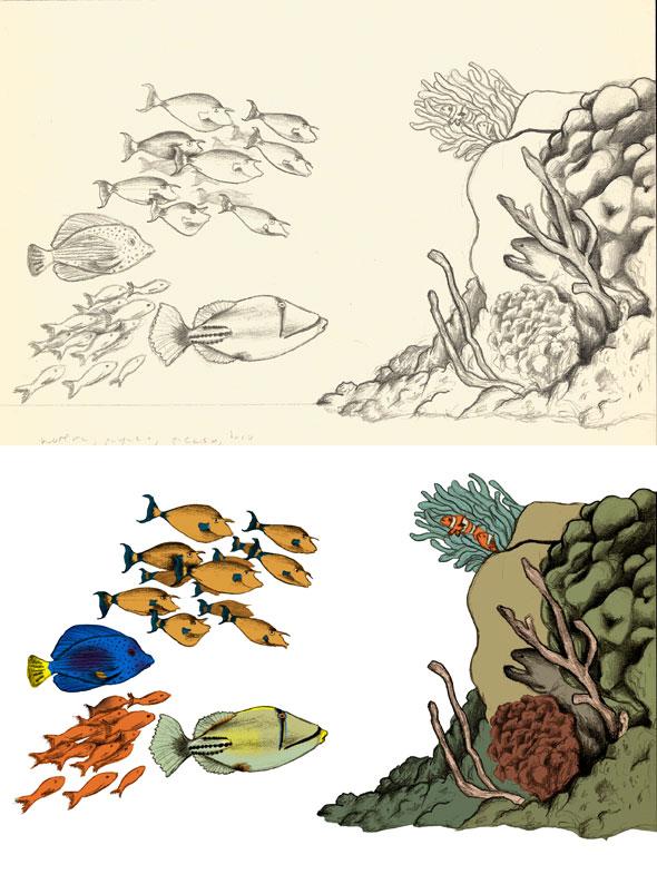 Ilustración corales