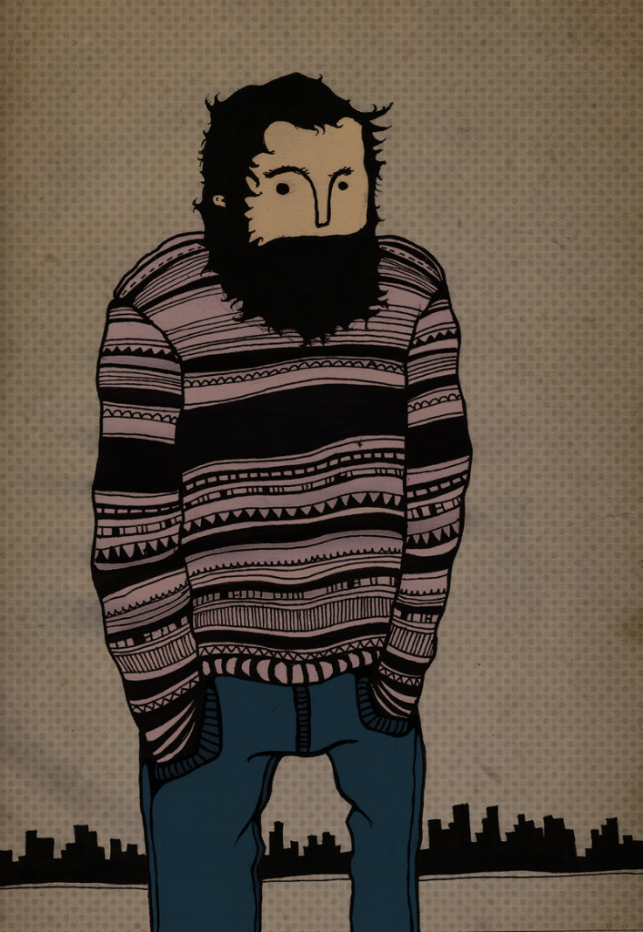 Ilustración Barbudo