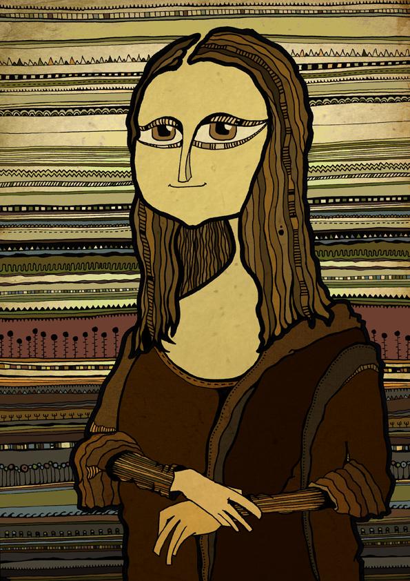 Interpretación personal de La Mona Lisa