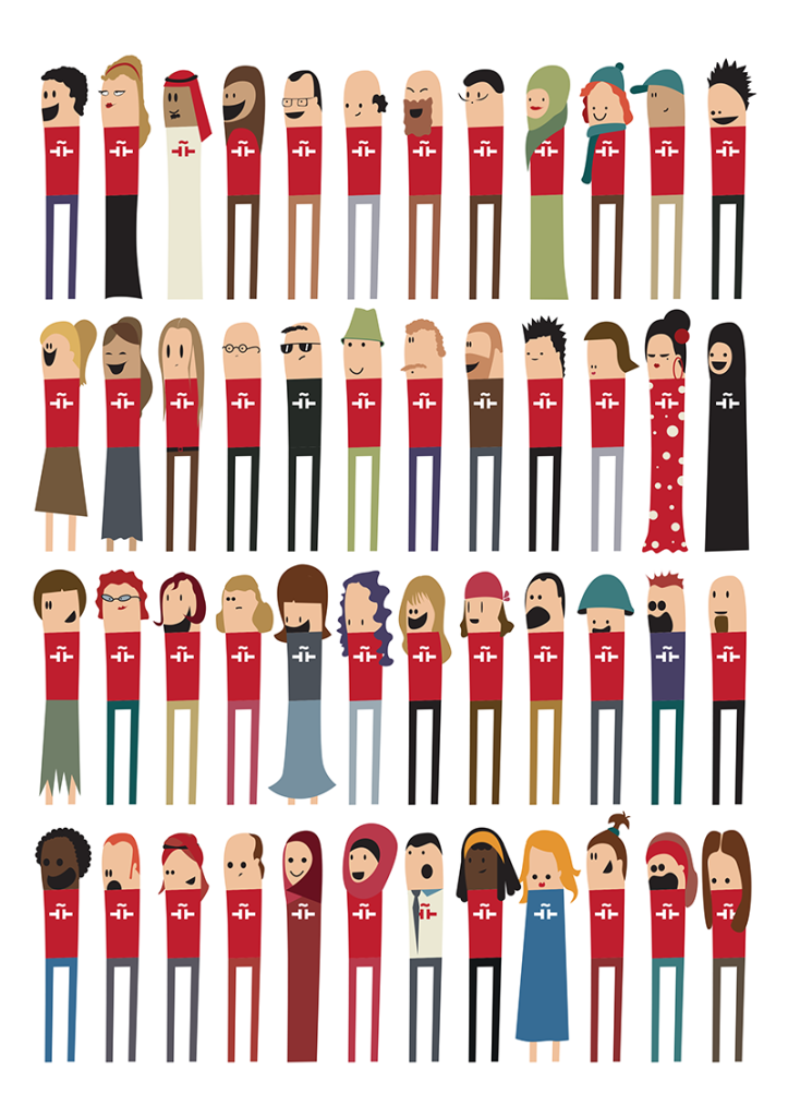 Personajes Jordania