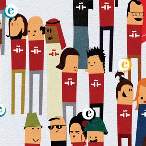 Ilustración Personajes caracterizados