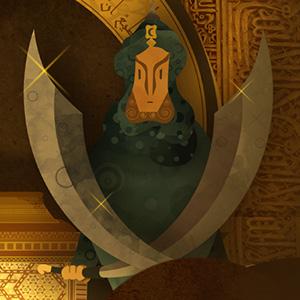 Ilustración Cuentos de la Alhambra
