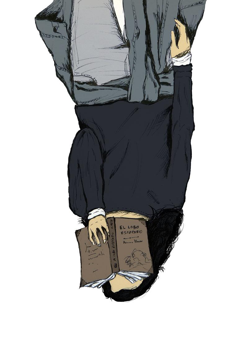"""Ilustración artículo """"Mientras leo"""""""
