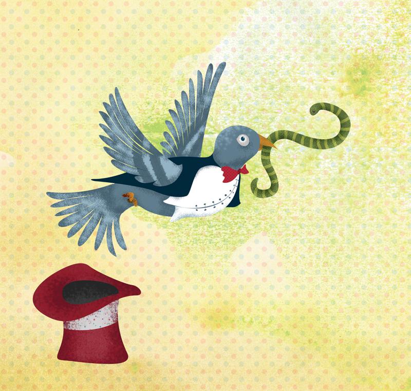 Gustavo, el palomo mago