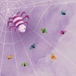 Dibujo araña