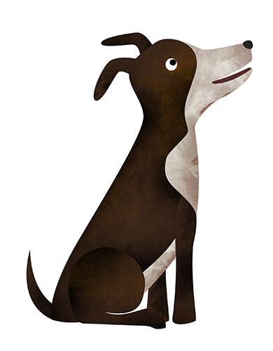 Ilustración perro
