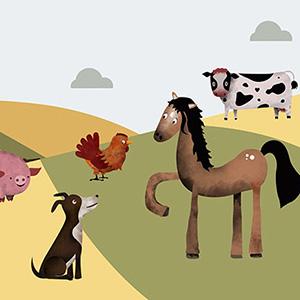 App Animales de granja