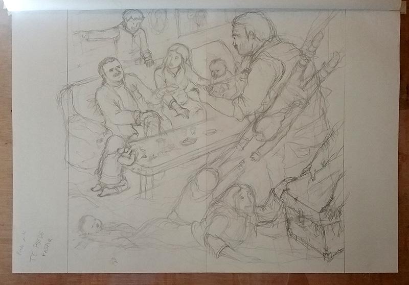 Boceto ilustracion