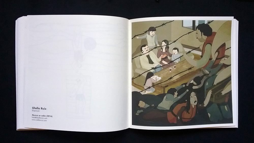 """Publicación """"Refugio ilustrado"""""""