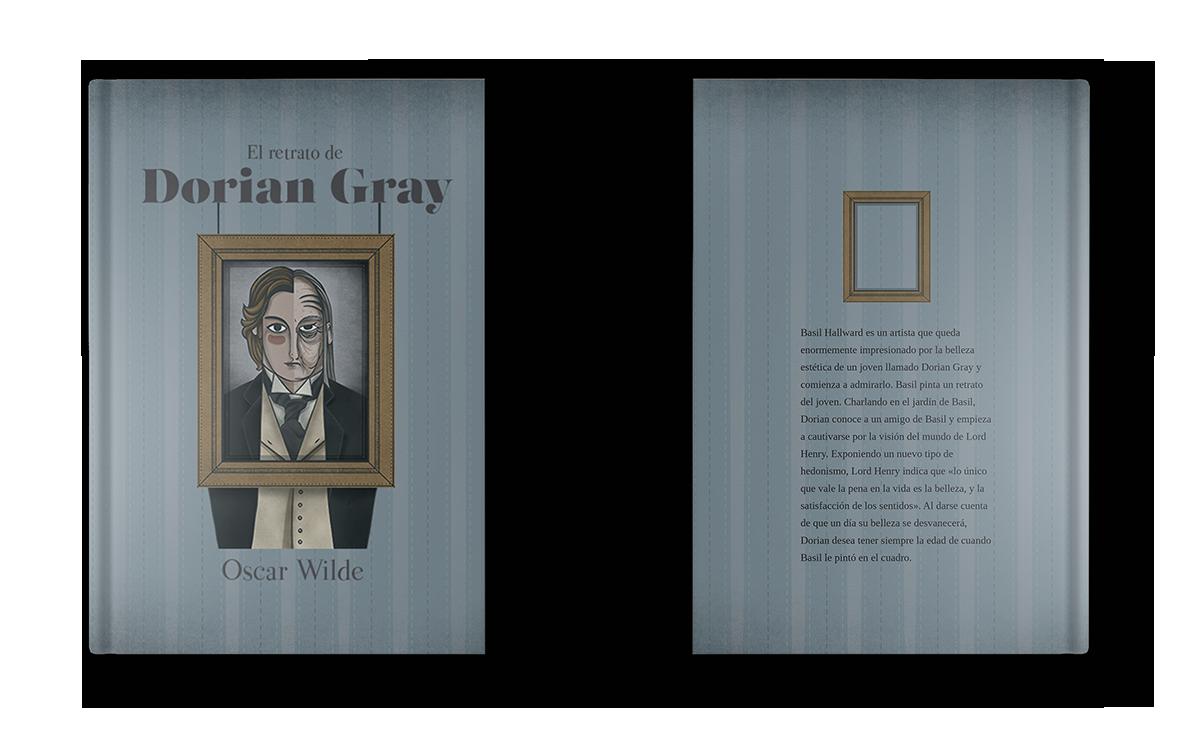 Portada libro Dorian Gray