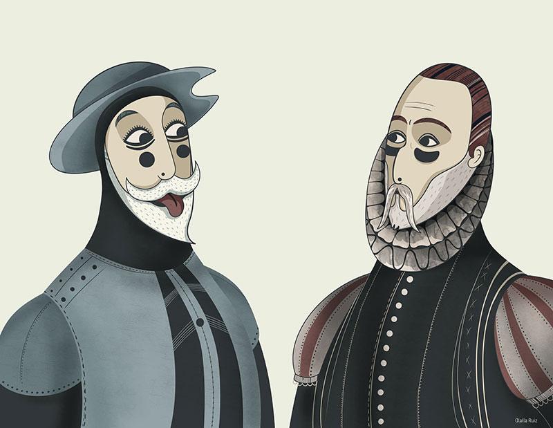 Quijote y Cervantes