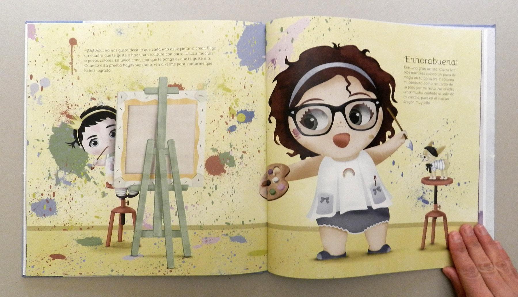 Ilustracion Cuento ilustrado artista