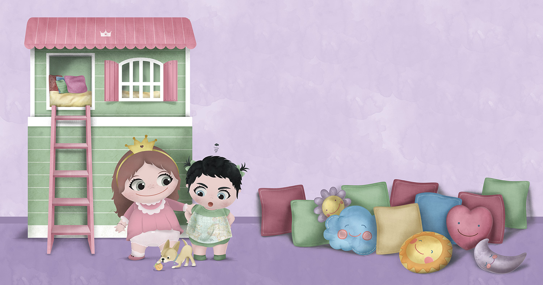 Ilustracion Cuento ilustrado casita