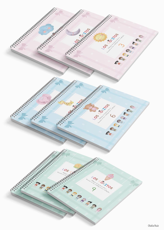 Portadas cuadernos de lectoescritura