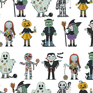 Diseño de personajes para Halloween