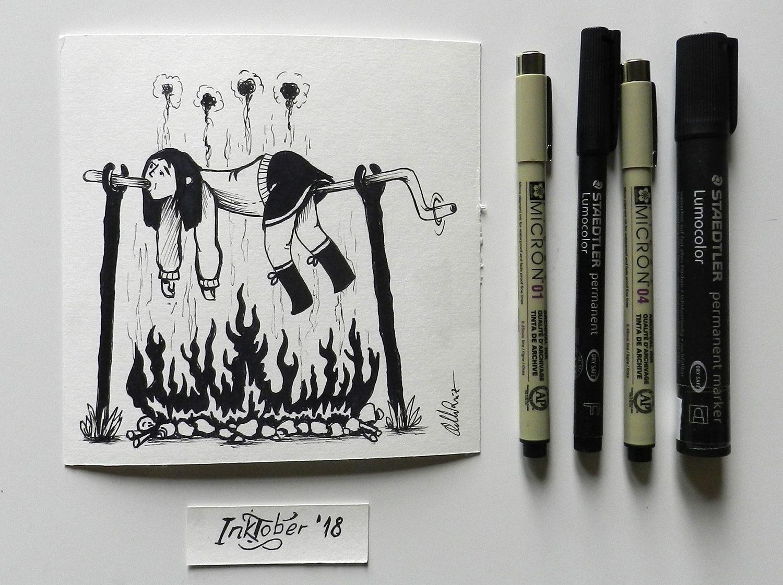 Inktober illustration day 3