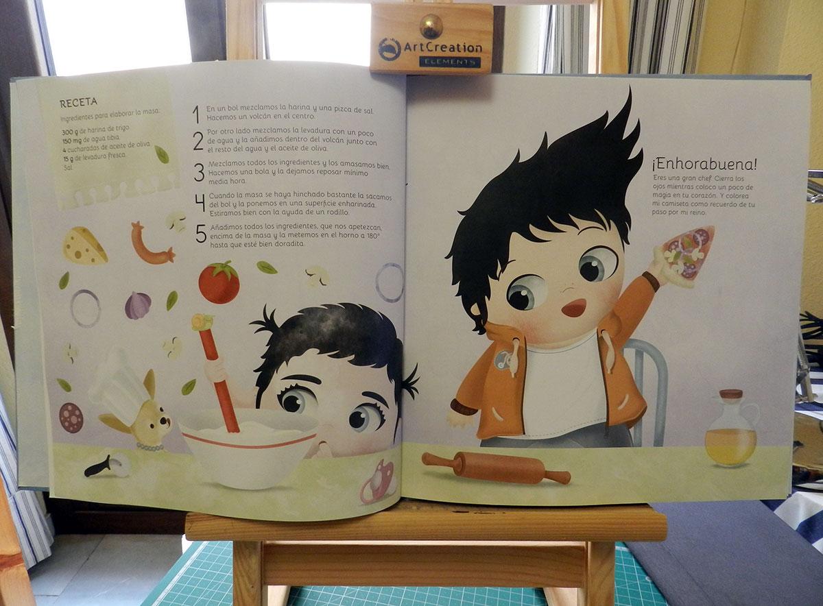 """Cuento infantil titulado """"Grande, grande como un gigante"""", escrito por Elisa Reyes, ilustrado por Olalla Ruiz y editado por Los Cokitos."""