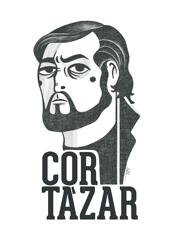 Ilustración de Julio Cortázar