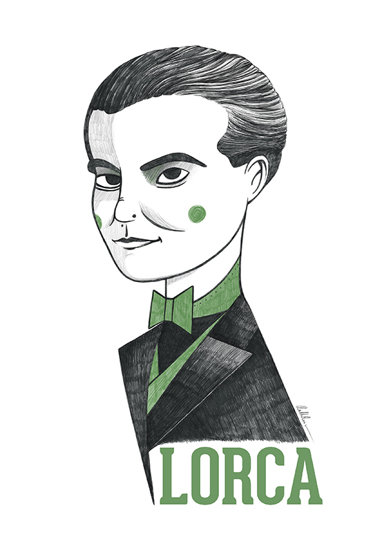 Ilustración de Federico García Lorca
