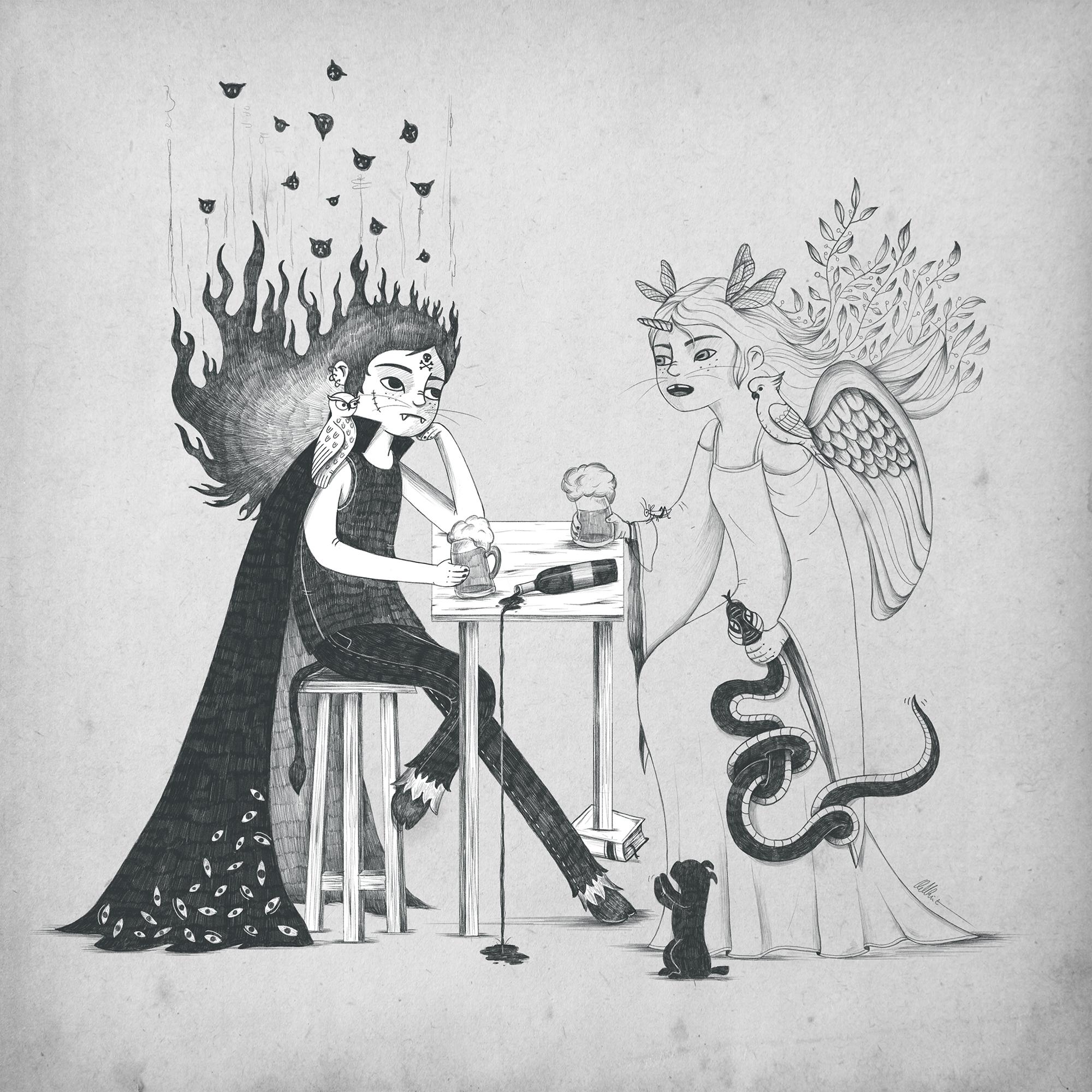 Ilustración del reto de dibujo