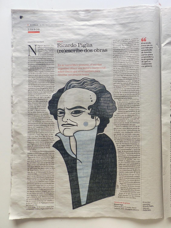 Ilustración editorial en el periodico El Pais