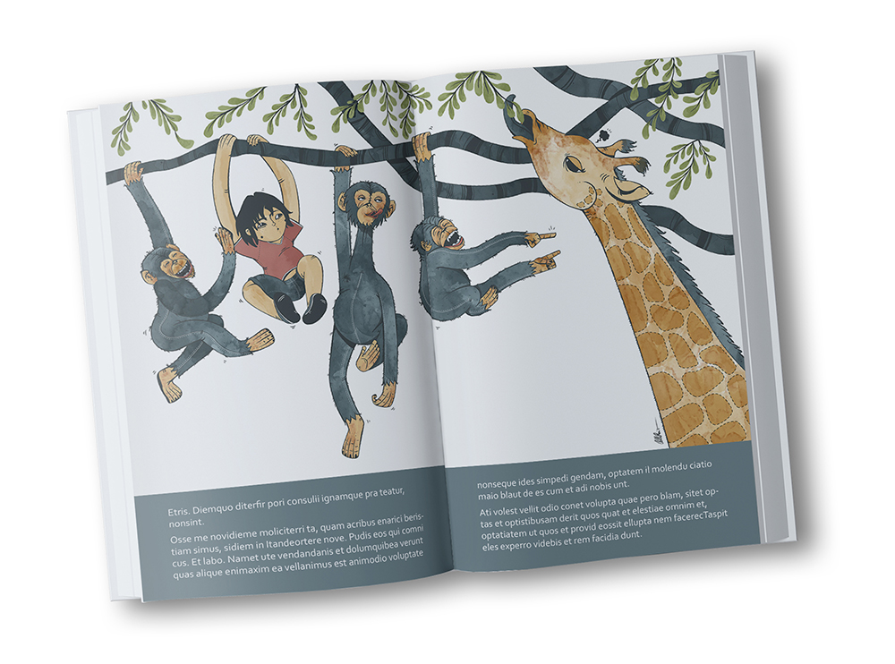 Picture book Jungle Teen